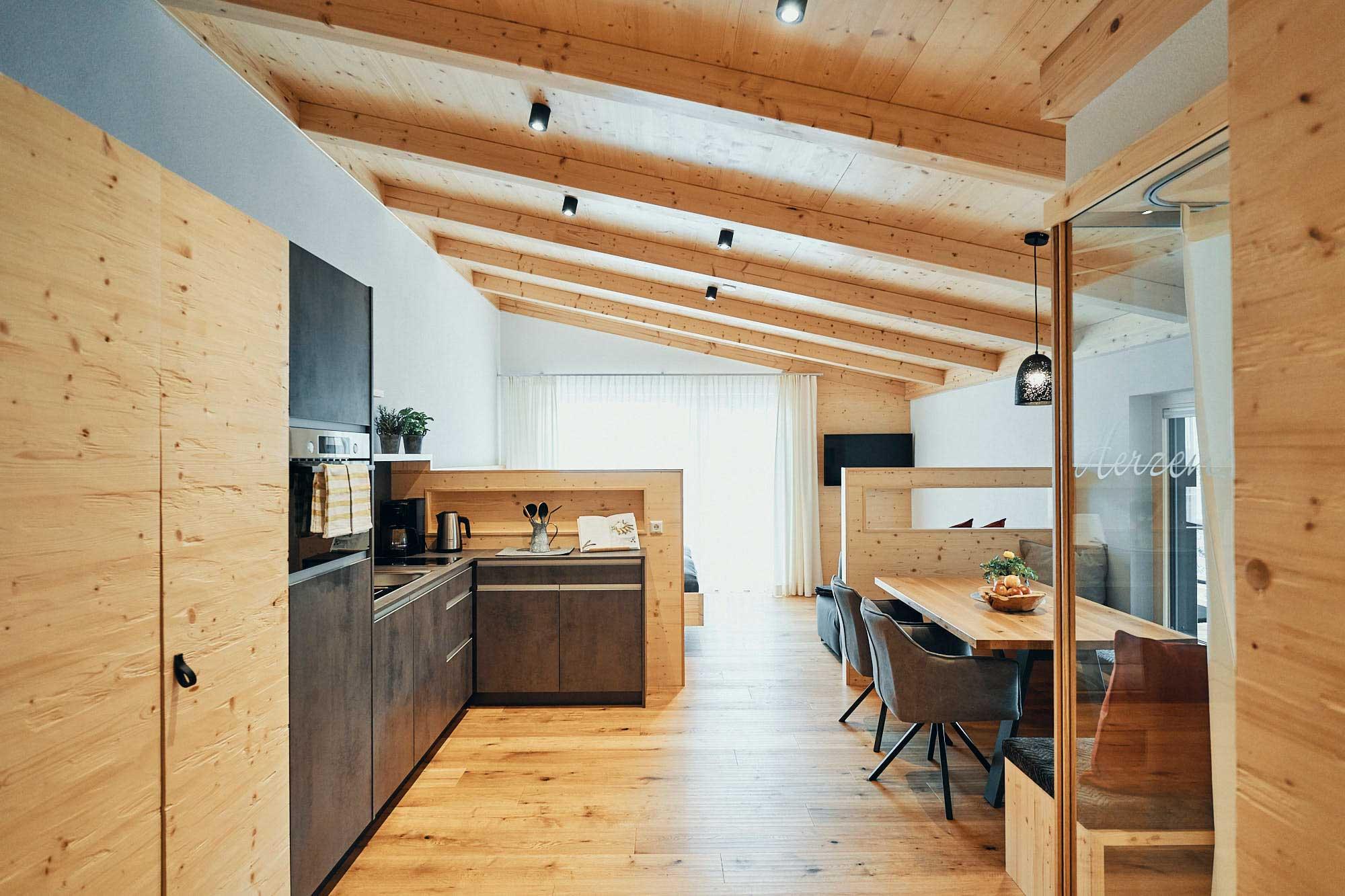 ECHTZEIT Ferien Apartments - Herzenswunsch - Wohnbereich
