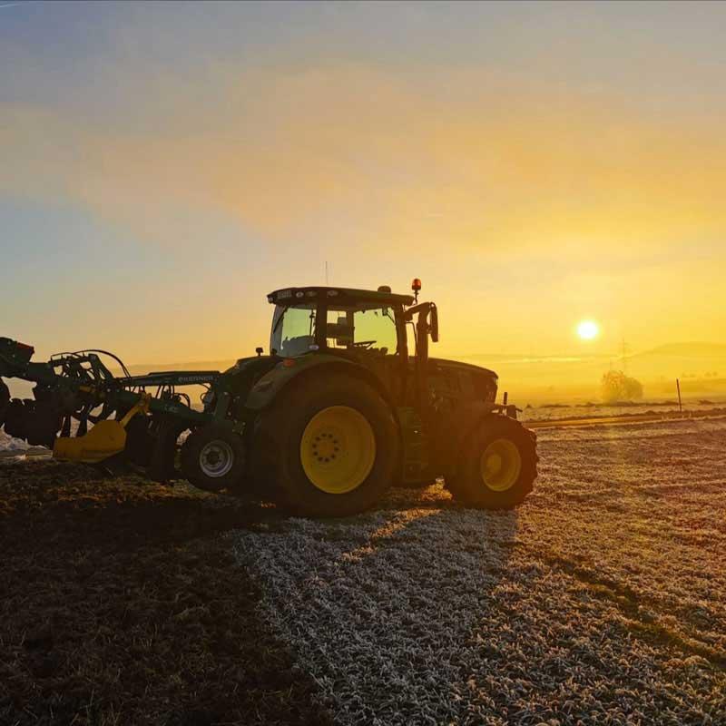Kapfhof - Landwirtschaft, Winterbearbeitung