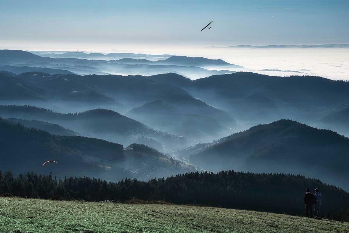 Blick über den Schwarzwald - Traumhaft schön