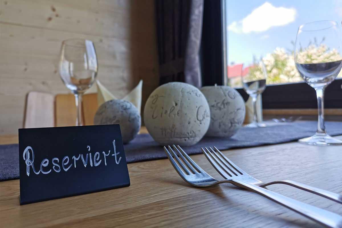 Tischreservierung WaldCafe Bad Dürrheim