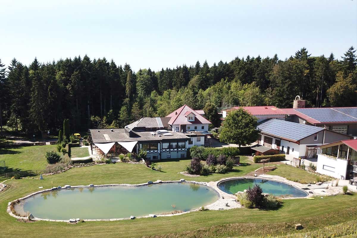 Vorm Holz Gebäudekomplex Luftbild