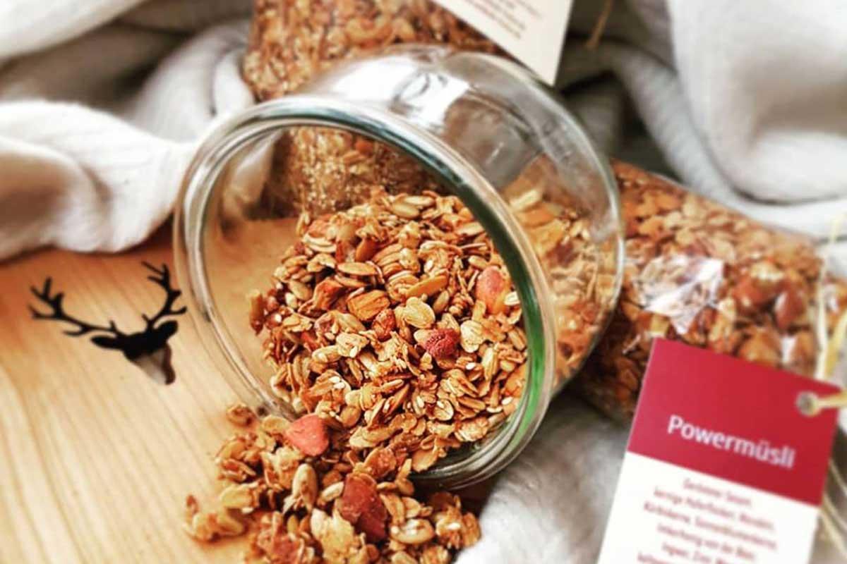 WALD CAFE - Powermüsli, selbstgemacht, zu kaufen