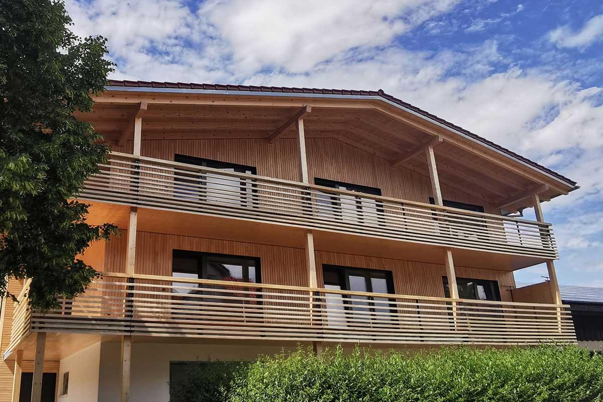 Außenansicht Haus ECHT ZEIT Ferienapartments