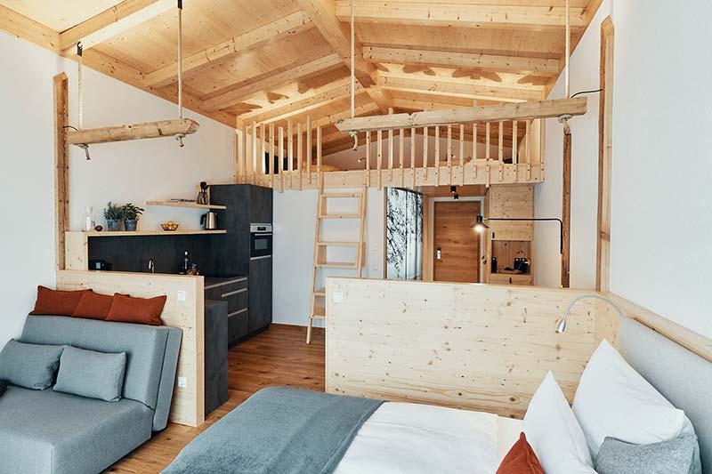 Lieblingsplatz Ferien Apartment Inneneinrichtung